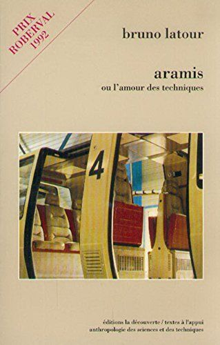 Aramis Ou L Amour Des Techniques De Bruno Latour Https Www Amazon Fr Dp 2707121207 Ref Cm Sw R Pi Dp X Rgj3zbbkvxq1b Téléchargement Livre Livre Pdf