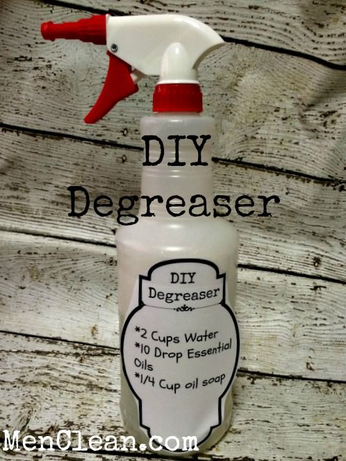 how to make your own engine degreaser