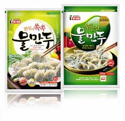 Korean Dumpling Thiết Kế
