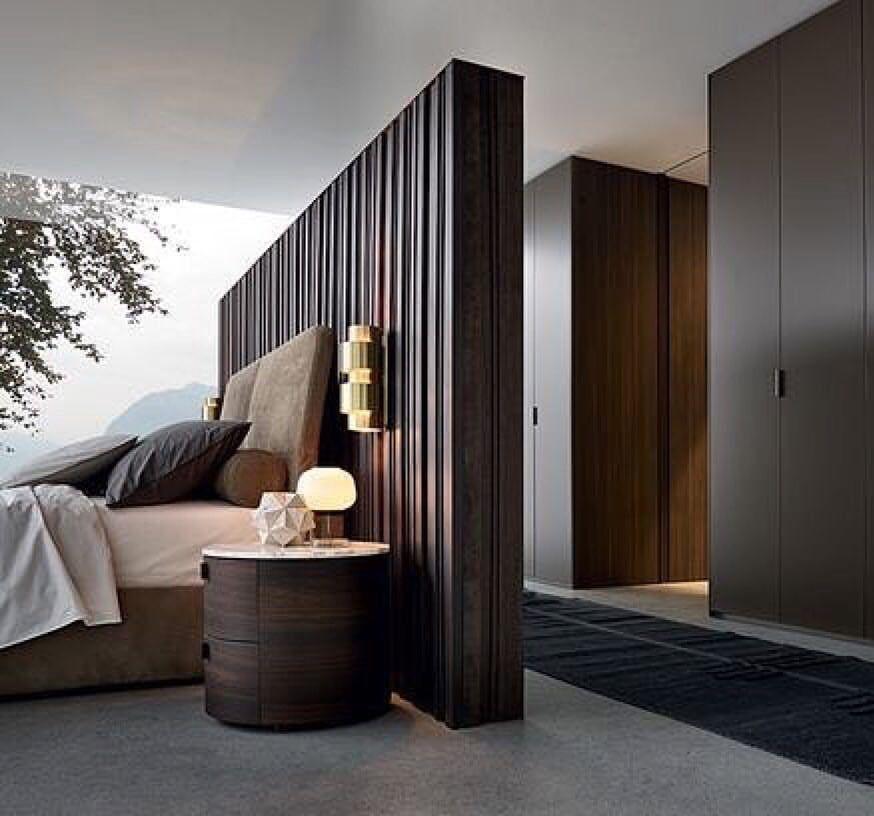 "Photo of Interior Design & Architecture on Instagram: ""Perfect bedroom space planning… #modern_interiordesign"""