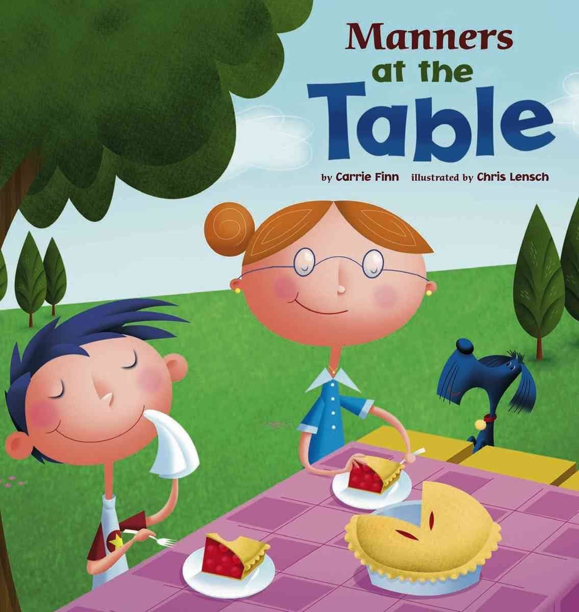 Mystery Reader Book For Pre K4 Class About Table Manners