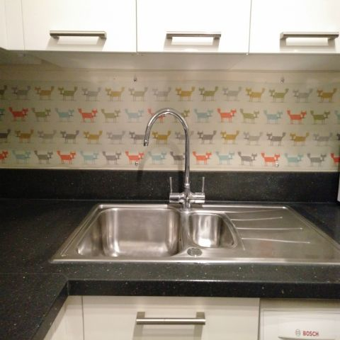 Kitchen Sink Splashback | DIY Projects With Clear Acrylic ...
