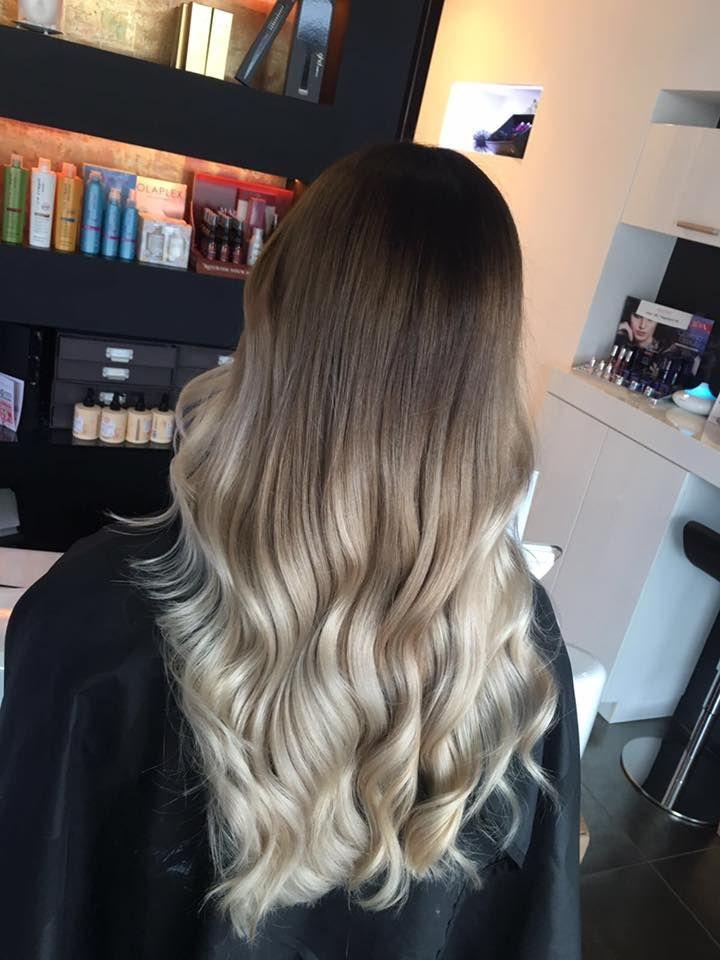 Blond verlauf braun Frisurengalerie