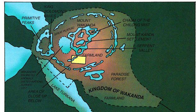 Dc Comics World Map