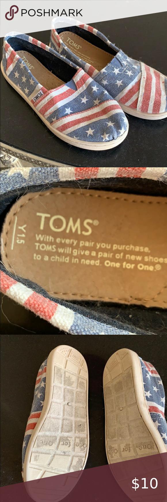 Blue toms, Toms shoes