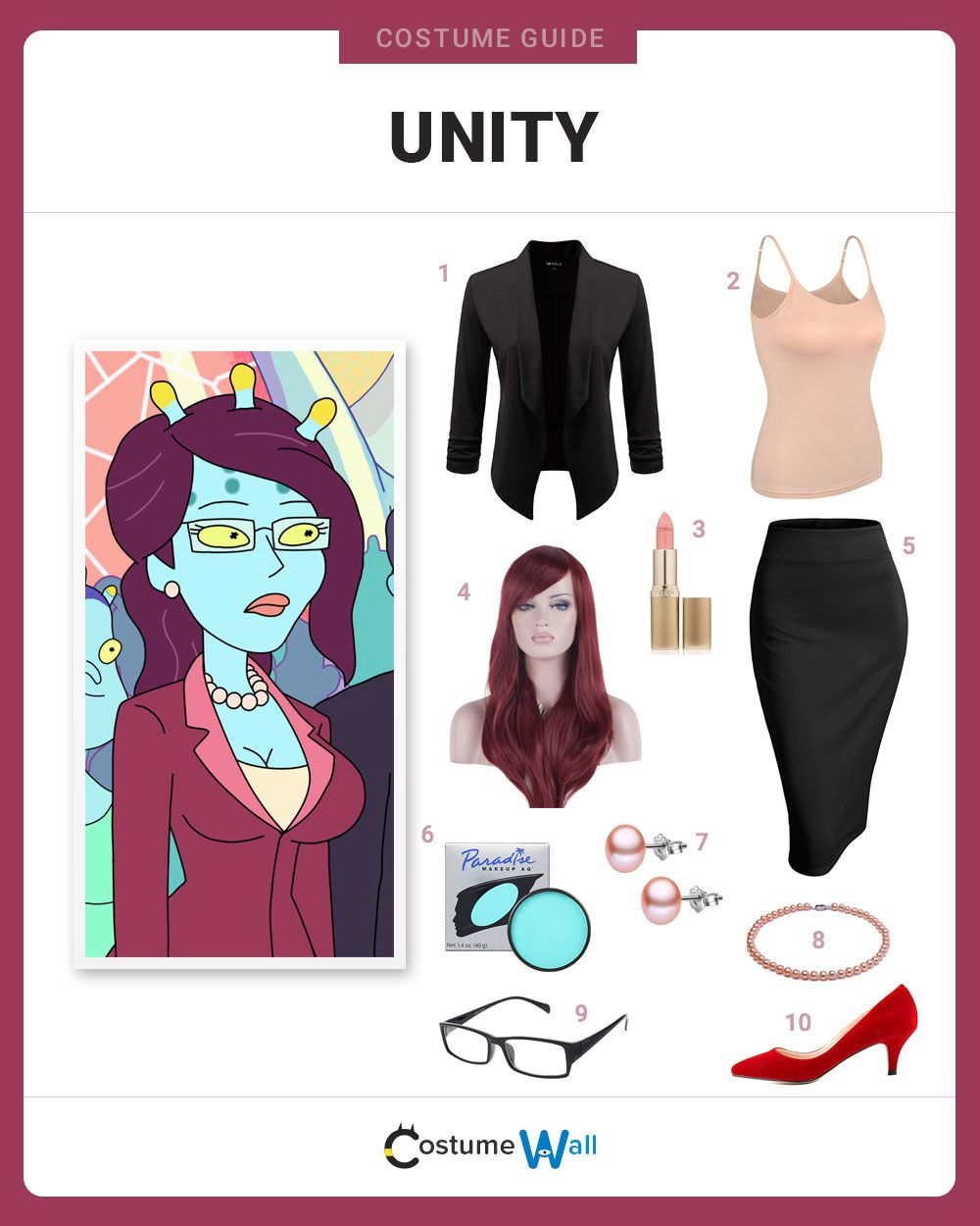 Dress Like Unity | Costume and Cosplay Guides | Morty