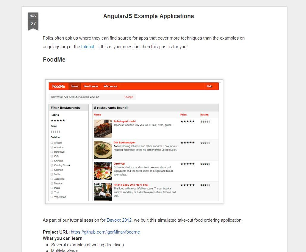 Angular js example applications folks often ask us where they can angular js example applications folks often ask us where they can find source for apps that cover more techniques than the examples on angularjs org or baditri Choice Image