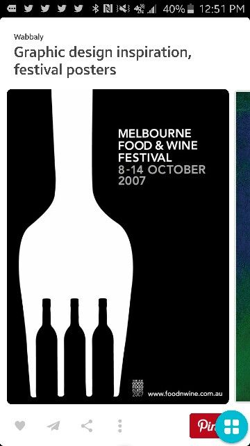 Pin On Positive Space: Wine Festival, Negative, Positive Space, Festival Posters