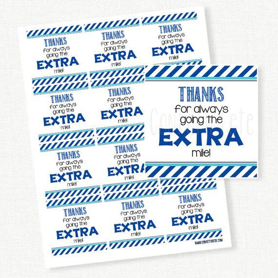 photo about Extra Gum Teacher Appreciation Printable identify Because of for shifting the Far more mile Tag, Trainer Appreciation