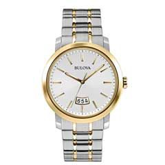 3a32599f253 Men s Bulova Watch (Model  98B214) - Get surprising discounts up to 60% Off  at Gordon s Jewelers with Coupons and Promo Codes.