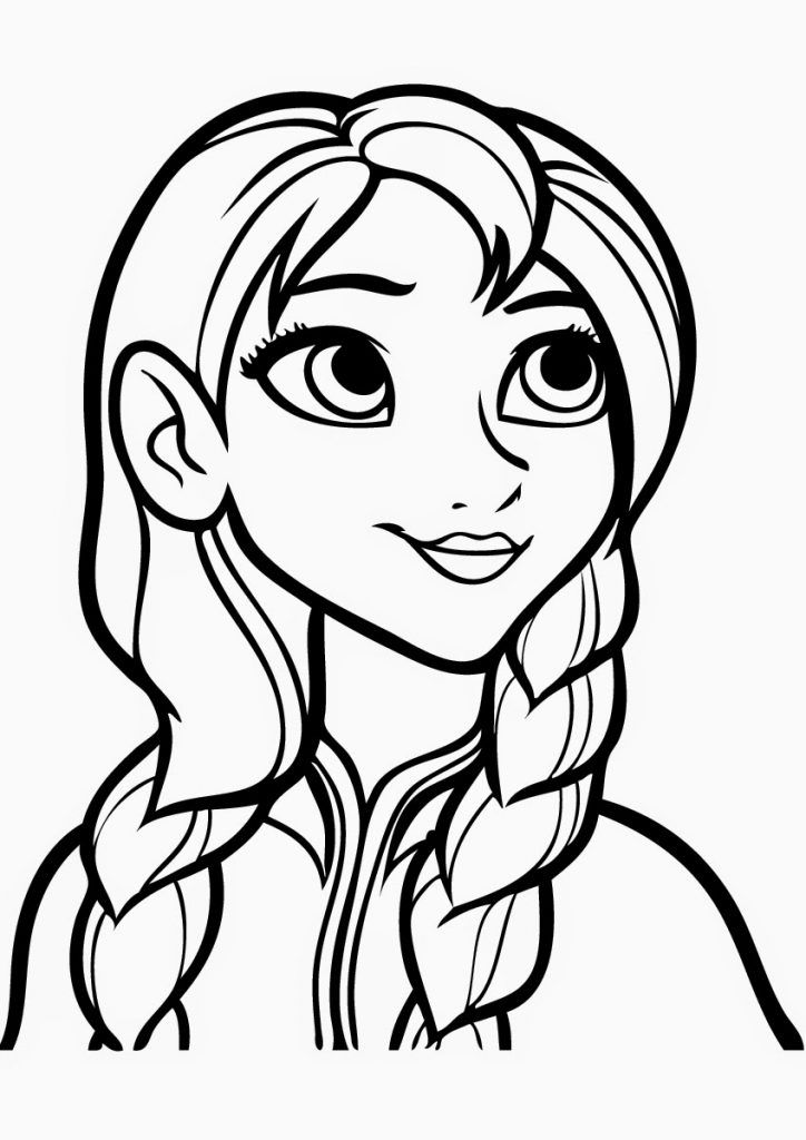 frozen cartoon characters coloring pages - photo#5