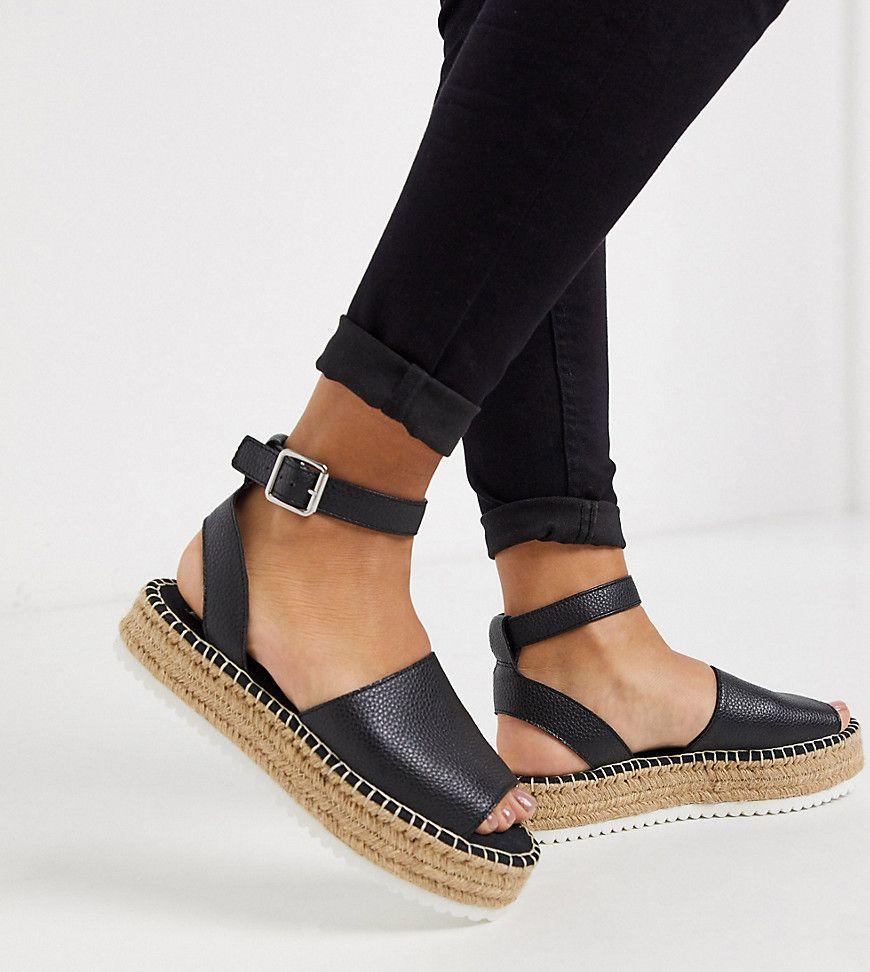 wide foot flatforms
