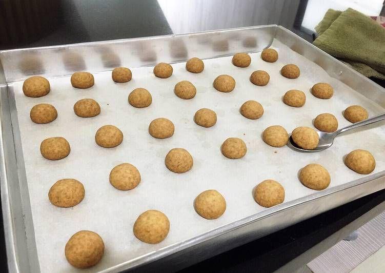 Resep Diabetic Coconut Balls Oleh Iris May Resep Kue Kering Kue Resep Kue