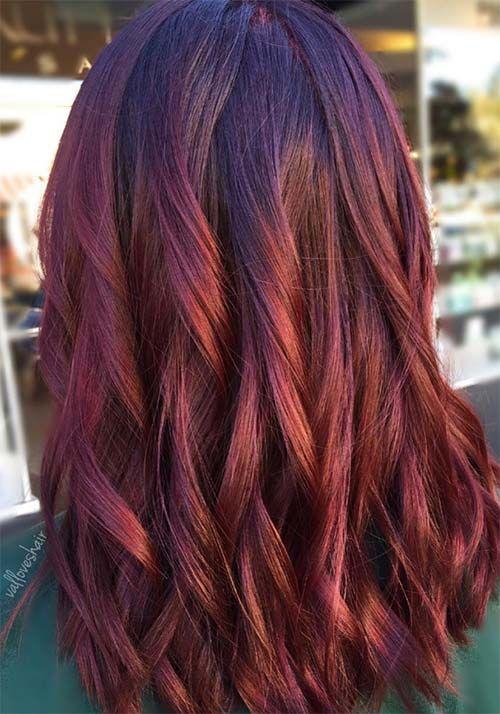 100 Badass Red Hair Colors Auburn Cherry Copper