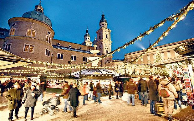 Christmas In Austria Holidays.Salzburg Most Beautiful City In Europe The City Of