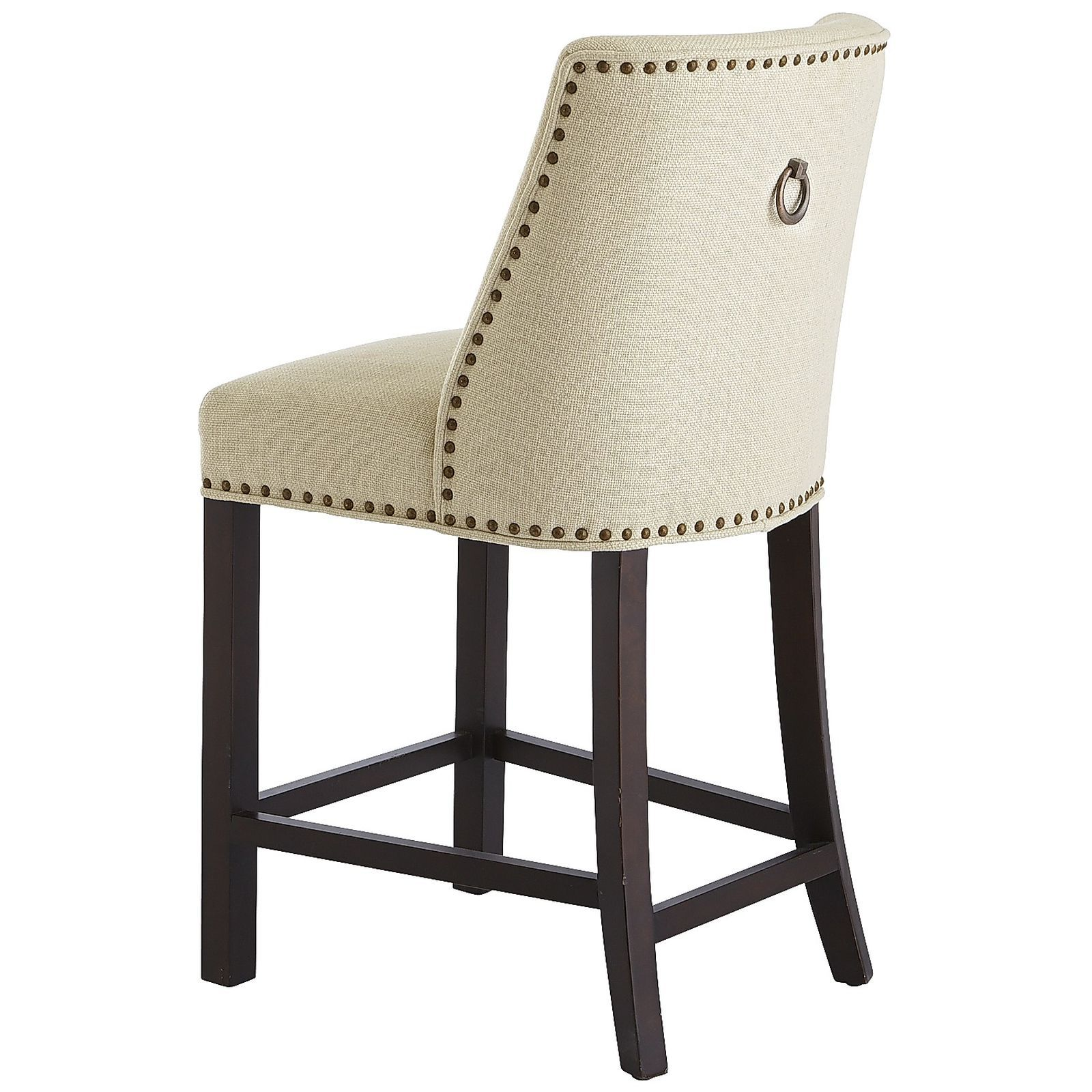 Corinne Linen Counter & Bar Stool