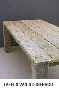 Steigerhout Meubelen Jorg.Tafels Van Steigerhout Jorg S Houten Meubelen Reclaimed Wood