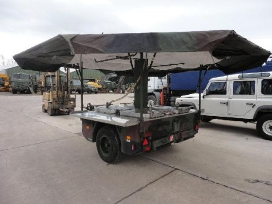 karcher tfk 250 army mobile field kitchen trailer bug out trailers rh pinterest com