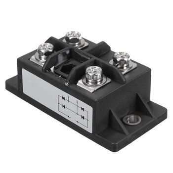 1PC Black 150A Amp 1600V MDQ150A Single-Phase Diode Bridge Rectifier Power Module Rectifiers Electronic Components & Supplies