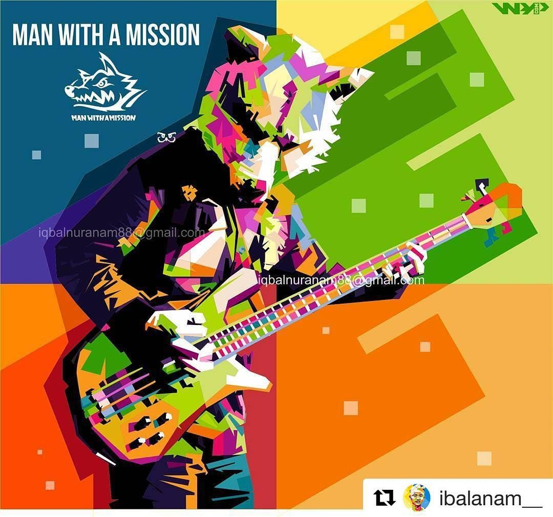 Awesome Colorful Pop Art Of Kamikaze Boy From Ibalanam