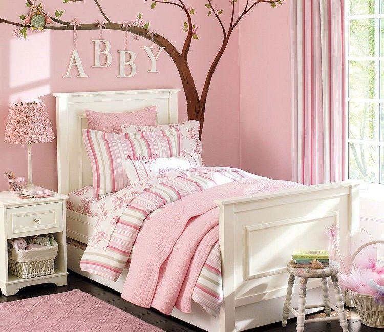 blanco-y-rosa | Dormitorios juveniles | Pinterest