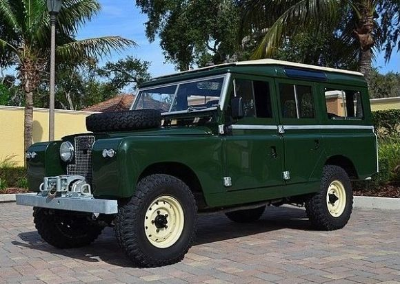 Fresh Chassis Resto 1964 Land Rover Series Iia 109 Land Rover