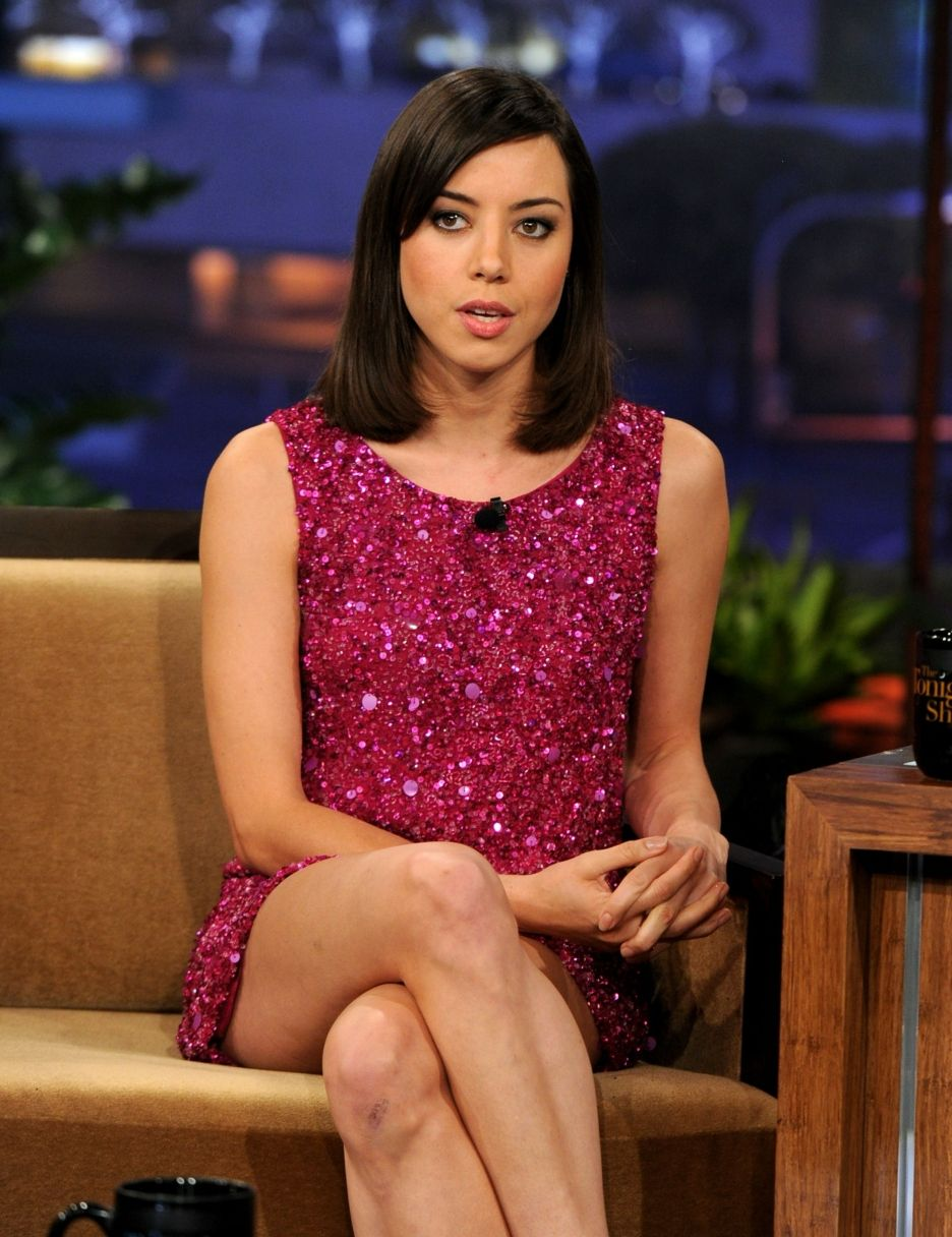 Aubrey plaza. I love her deadpan humor, so funny!