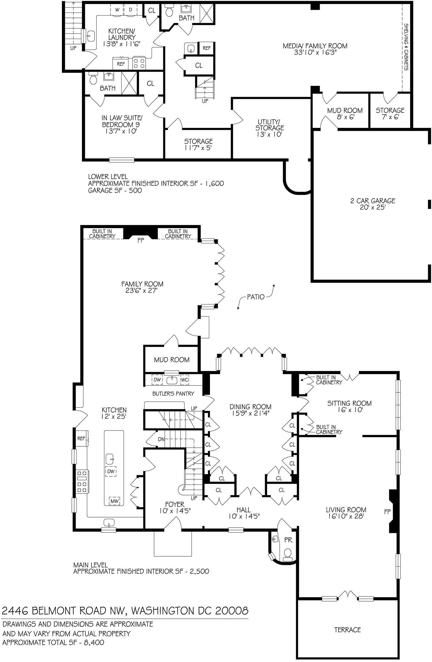 Here S The House Obama Will Live In After He Moves Out Of The White House Obama House Mansion Floor Plan House Plans