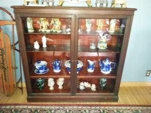 Chicago All For Sale By Owner Wooden Glass Bookcase