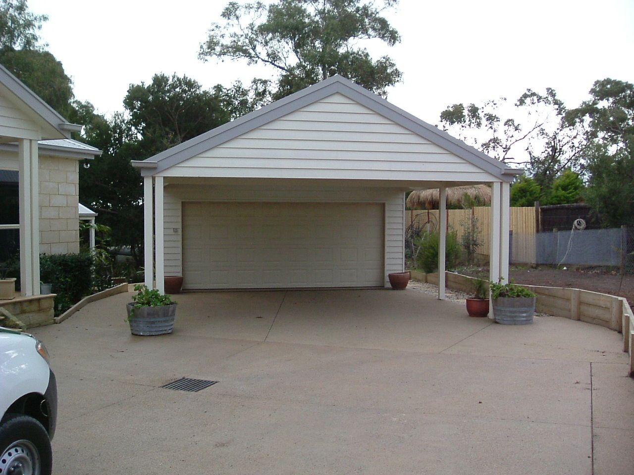 Carport ideas carport ideas pinterest carport ideas for Carport garage plans