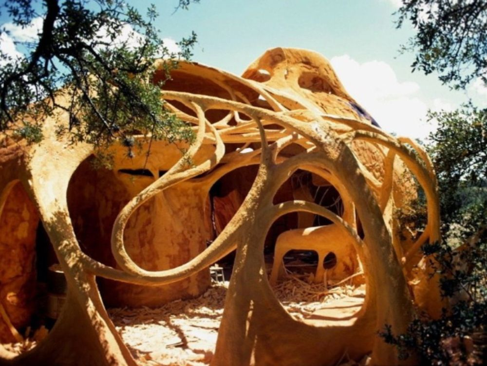 Beautiful Organic Architecture By Charles Harker Earth House Tao Design Group Environmental Architecture Organic Architecture Earth Homes