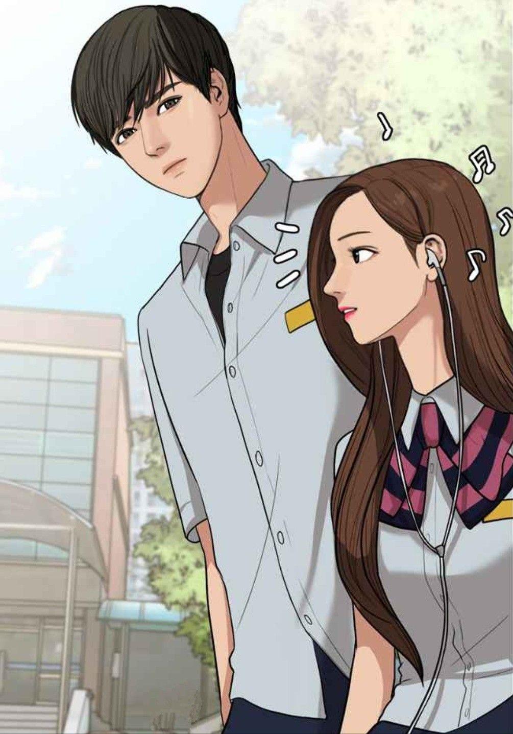 Jugyeong x Suho - True beauty Webtoon #TrueBeauty