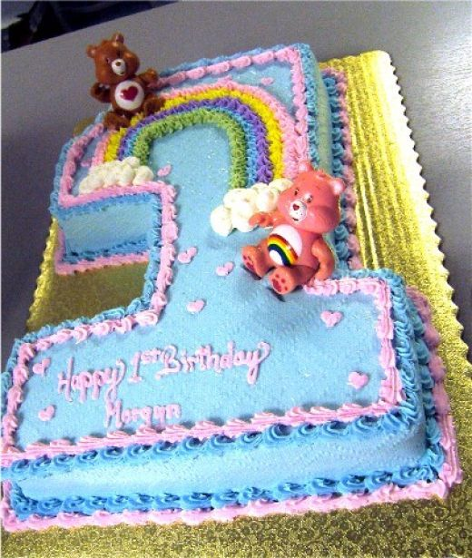 Care Bear Birthday Cake Idea Choose Any Color And Add The