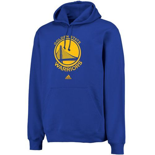 be3a65150906 Adidas Golden State Warriors Logo Pullover Hoodie Sweatshirt Royal ...