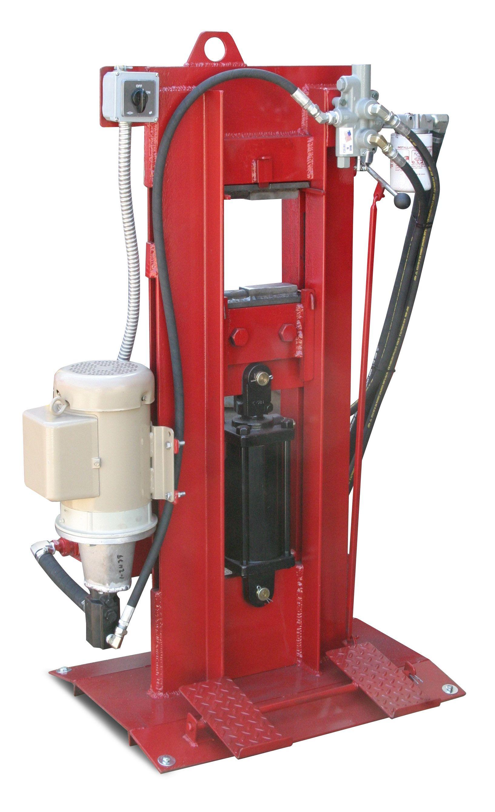 Hydraulic Forging Press Click Image To Close Forging Tools Metal Working Tools Blacksmithing