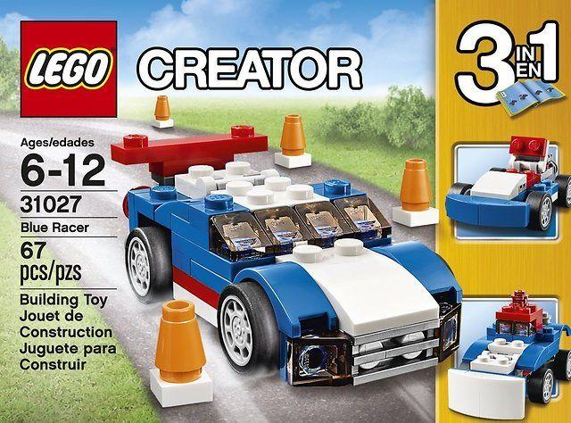 LEGO Creator Blue Racer Set $3.99 (amazon.com)