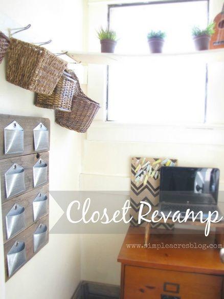 Closet Revamp, Home Decor, Organization Happy Home Pinterest
