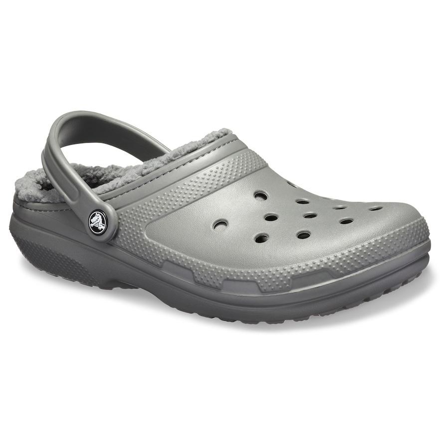 Crocs classic fuzz lined adult clogs crocs classic