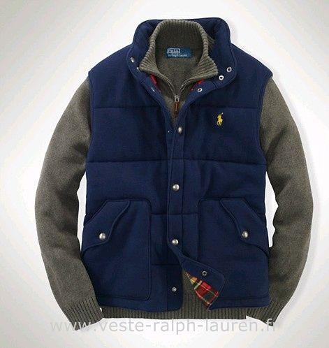 0e75e2aa606d95 Polo officiel - Ralph Lauren 2013 veste sans manches populaire hommes polo  beau bleu Pull Sans