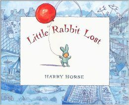 Part of what makes these books so adorable is the fact that the rabbit wears a bunny suit making for really cute illustrations.