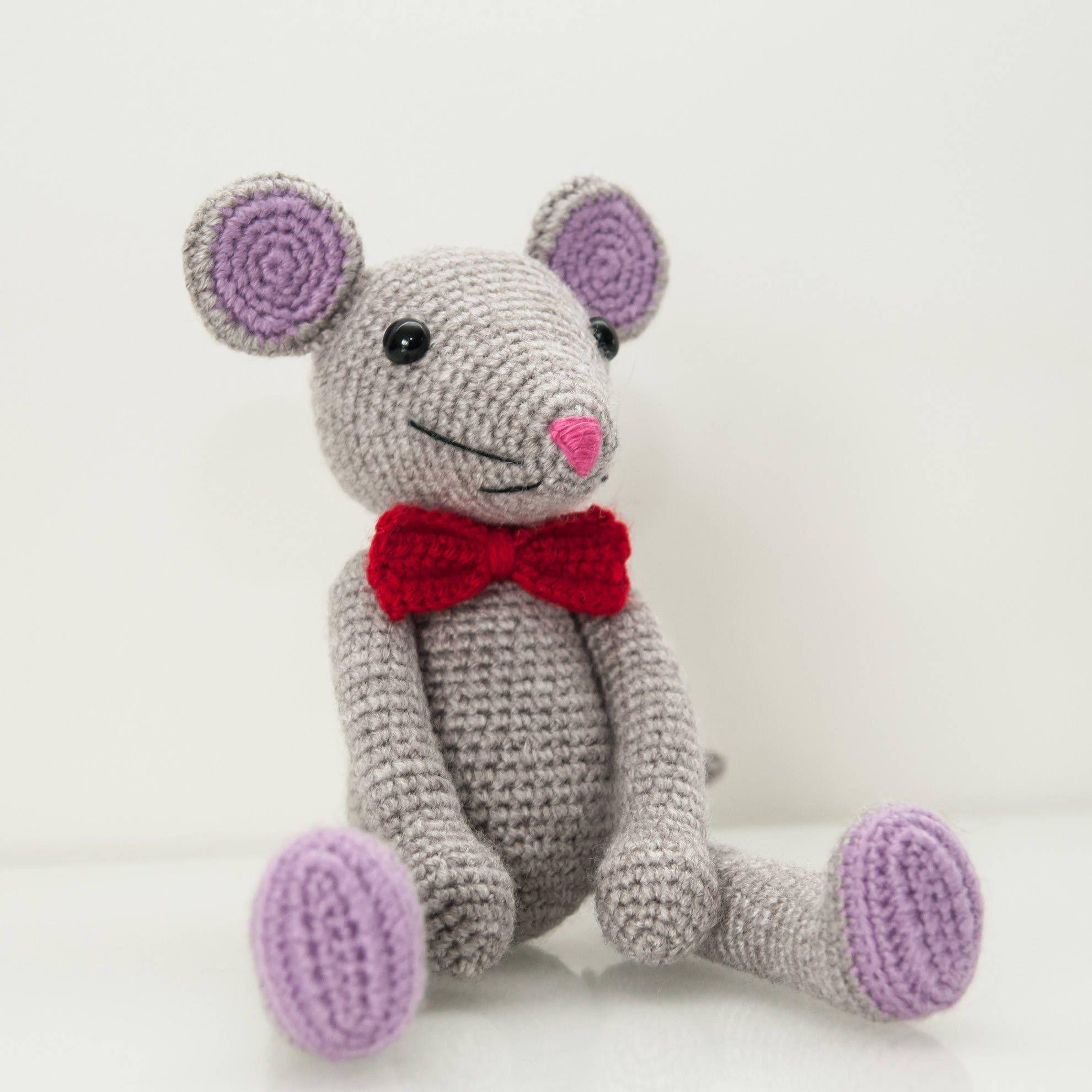 Crochet pattern, Crochet pattern mouse, easy crochet pattern ...