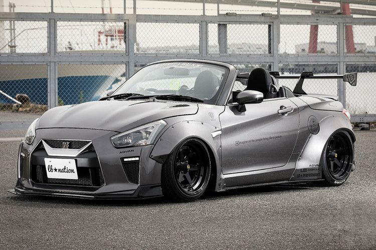 Liberty Walk Wants To Turn Your Favorite Japanese Microcar Into A Nissan GT-R — HiConsumption