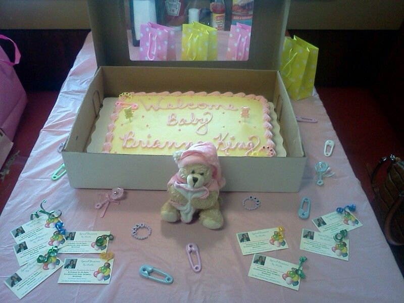 The Baby Shower Was At Golden Corral Reka Baby Shower