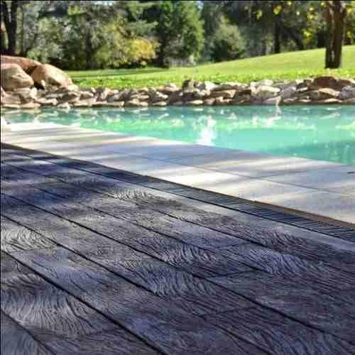 Pisos simil madera 100 concreto revestimiento pisos pileta for Piletas de concreto