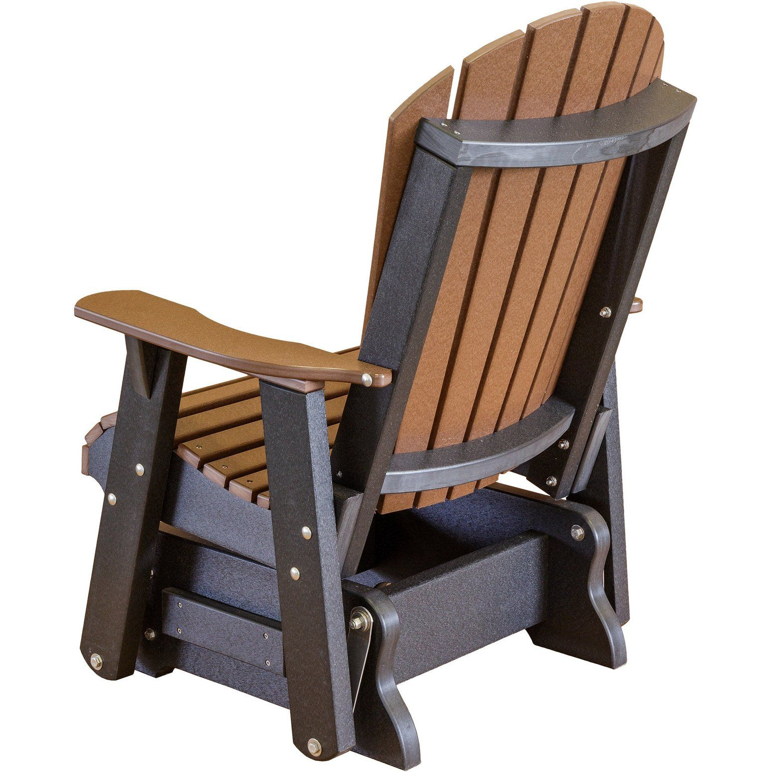 Wildridge Outdoor Recycled Plastic Heritage 2 Adirondack Glider Lead Time To Ship 6 To 8 Weeks In 2020 Diy Patio Furniture Glider Chair Rocking Chair Plans