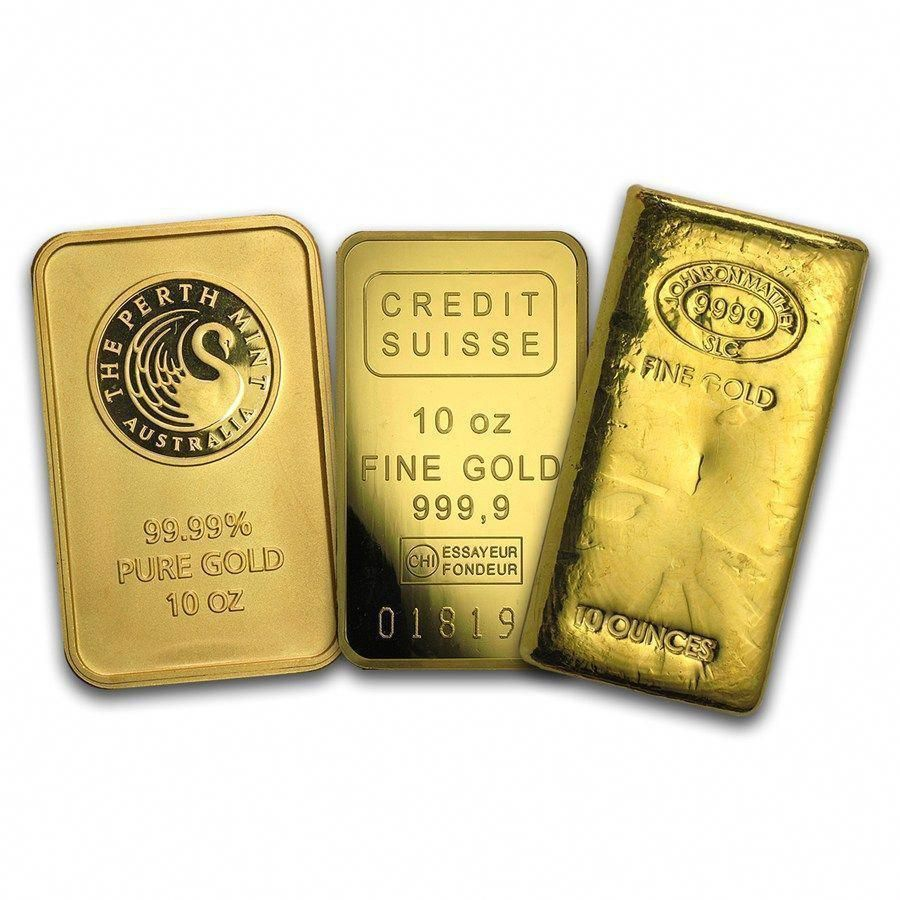 10 Oz Gold Bars Goldinvesting Goldcoins Gold Bullion Gold Bullion Bars Gold Money