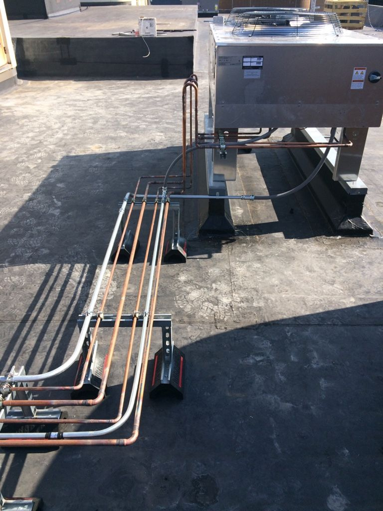 First Liebert Unit As The Lead Rooftop Roof The Unit