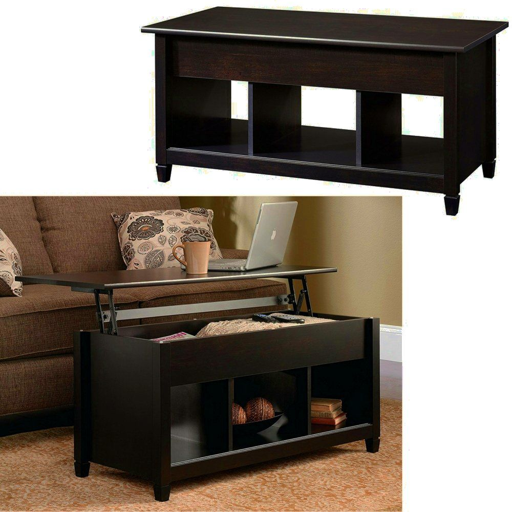 Lifttop Cocktail Table With Hidden Storage And 3 Cubes Black Wooden Modern Coffee T Coffee Table With Hidden Storage Modern Dining Table Coffee Table Furniture [ 1000 x 1000 Pixel ]