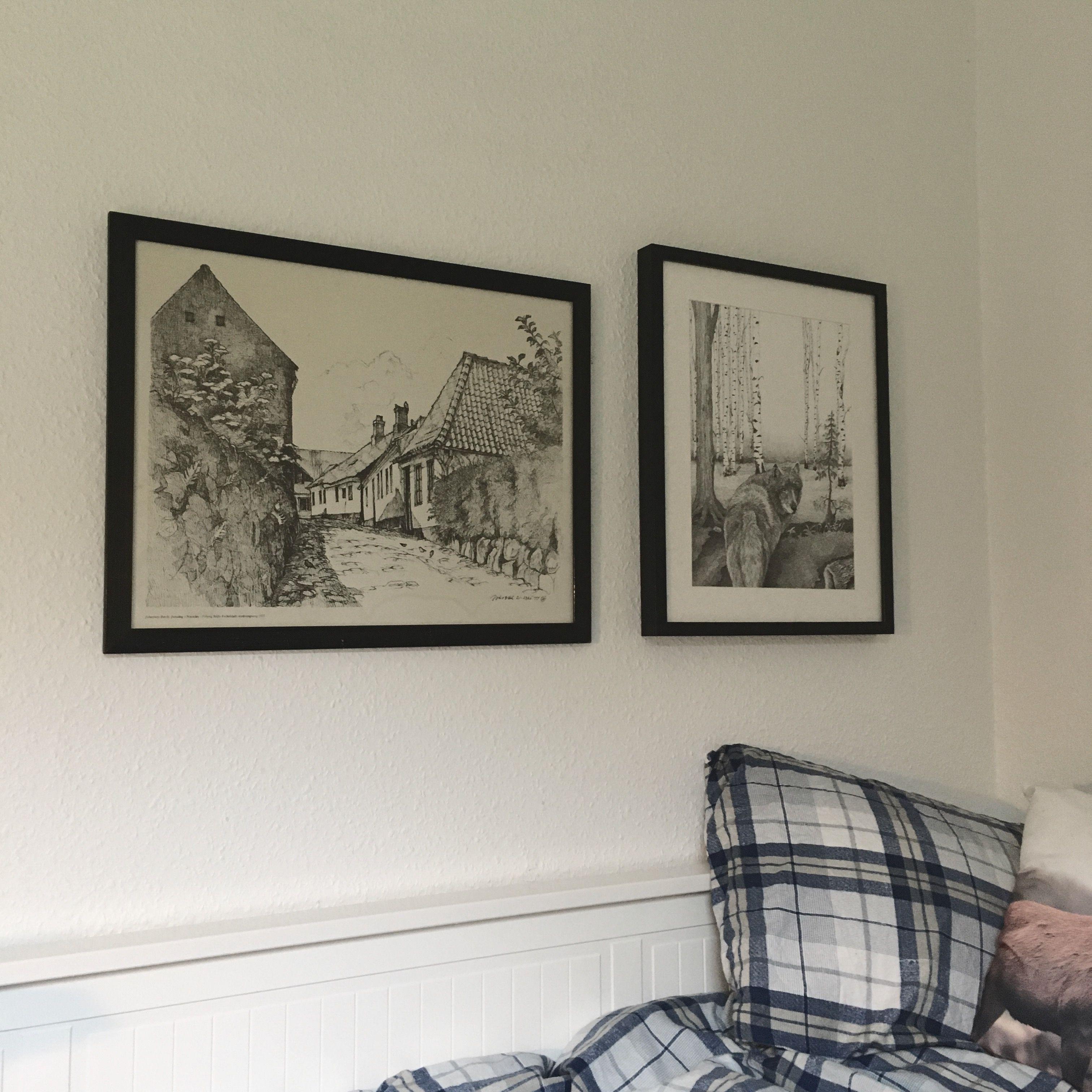 Kombination af nye og gamle tegninger