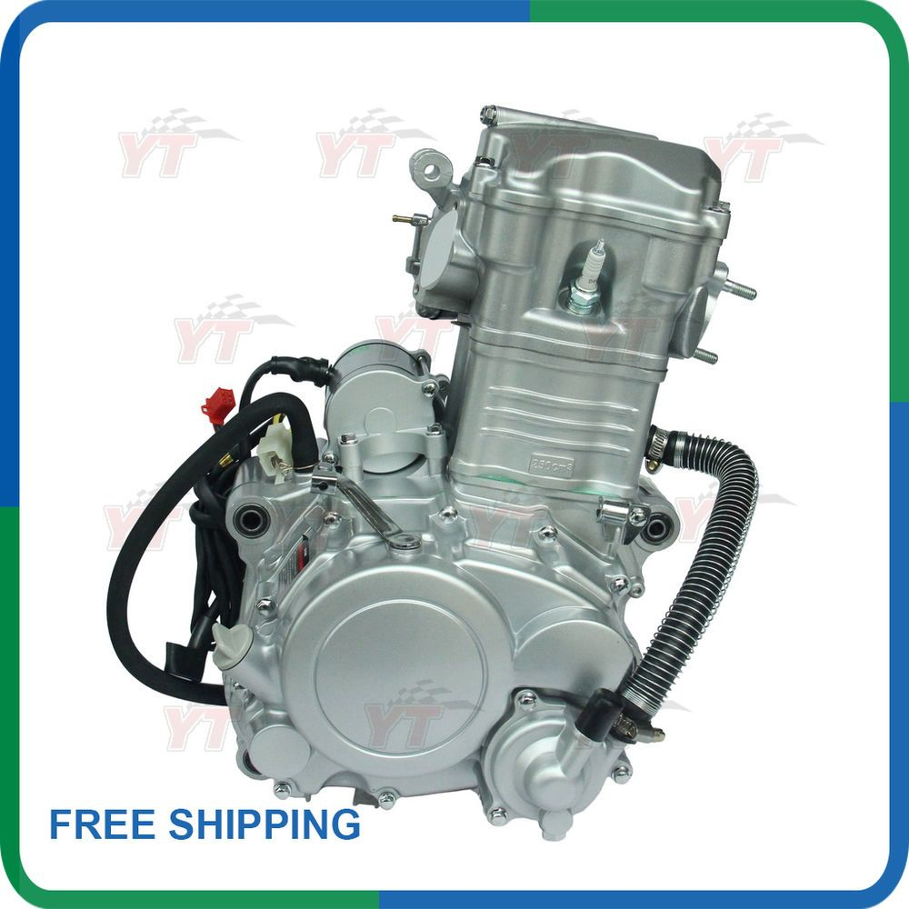 250cc engine shineray 250cc water cooled atv engine with reverse free engine kit [ 1000 x 1000 Pixel ]